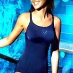 Bañador mujer de piscina de Basmar