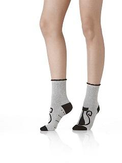 rebajas outlet tienda oficial disfruta del precio inferior Calcetines antideslizantes mujer de Pompea