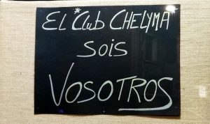 El club Chelyma sois todos