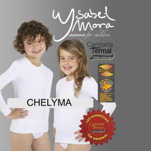 Camiseta térmica niños de Ysabel Mora