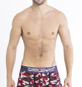 Boxer Discover estampado camuflaje