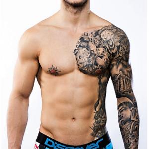 Boxer de Discover estampado calaveras