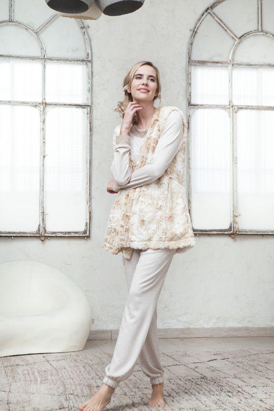 Bata señora a conjunto pijama de Señoretta