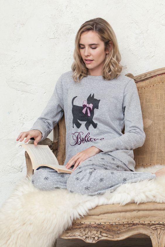 Pijama y bata señora a conjunto de Señoretta