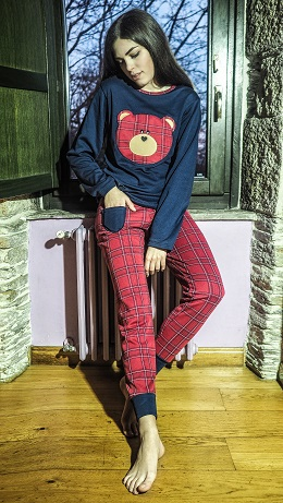 Pijama Señora invierno 2018