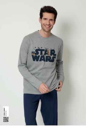 Pijama caballero Guerra de las Galaxias.