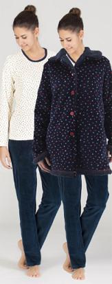 Conjunto Bata y pijama de Señoretta