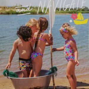 Braguita bikini niña de Bora-Bora