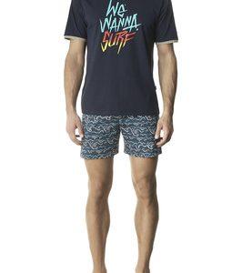 Pijama caballero verano pantalón corto