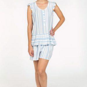 Pijama señora verano pantalón corto